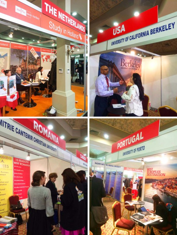 EURIE, Eurasia Higher Education Summit, Universities, countries, international, exhibitors, booths