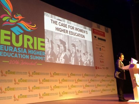 EURIE, Eurasian Higher Education Summit, Conference, Expo, Plenary, Patricia Licuanan, Philippines, Women