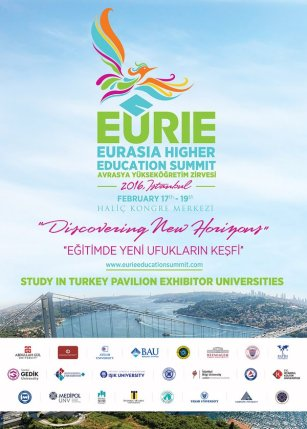 EURIE, conference, Istanbul, Abdullah Gül University, AGU, Study in Turkey Pavilion, Exhibitor