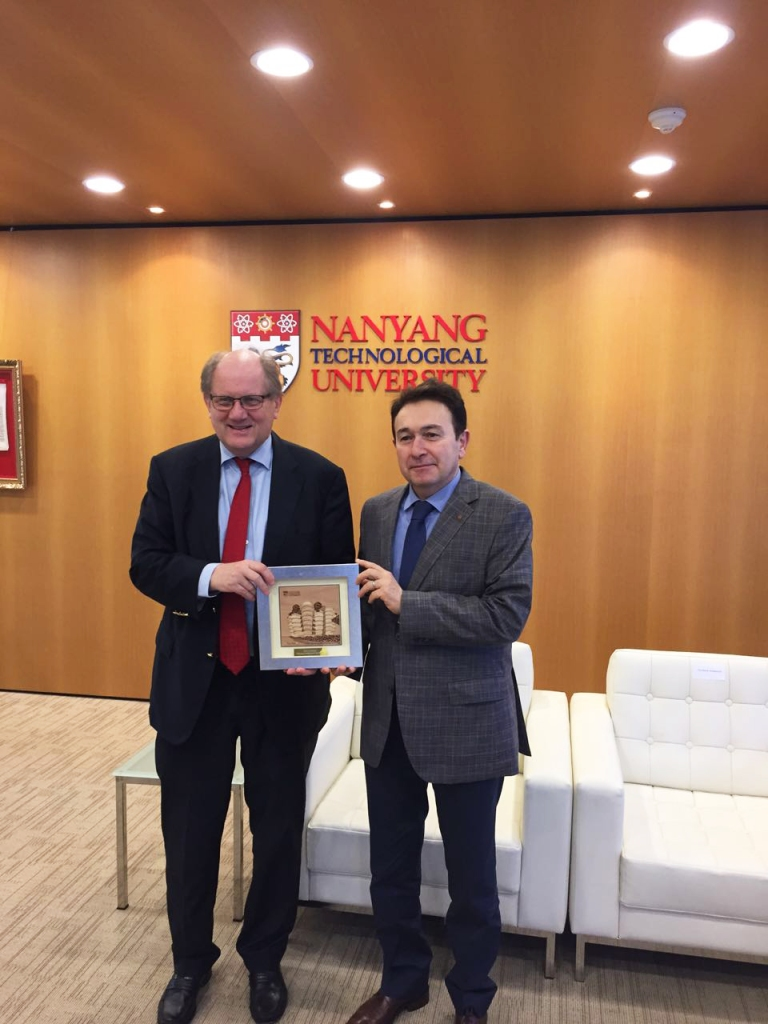 Abdullah Gül University, AGU, Rector, Sabuncuoglu, Nanyang Technological University, cooperation, internationalization