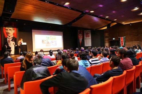 Abdullah Gül University, AGU, events, conference, hall, internationalization, nationalities, on campus, students, staff, vice, rector, Kenya, international office