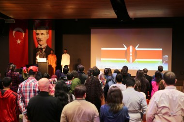 AGU, Kenya, Students, International, anthem, university, Abdullah, Gül, presentation
