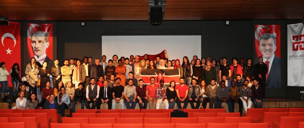 AGU, Intercultural Series, Kenya, Campus, Conference Hall, Activites, Studetnt Life, International Students, Abdullah Gül University
