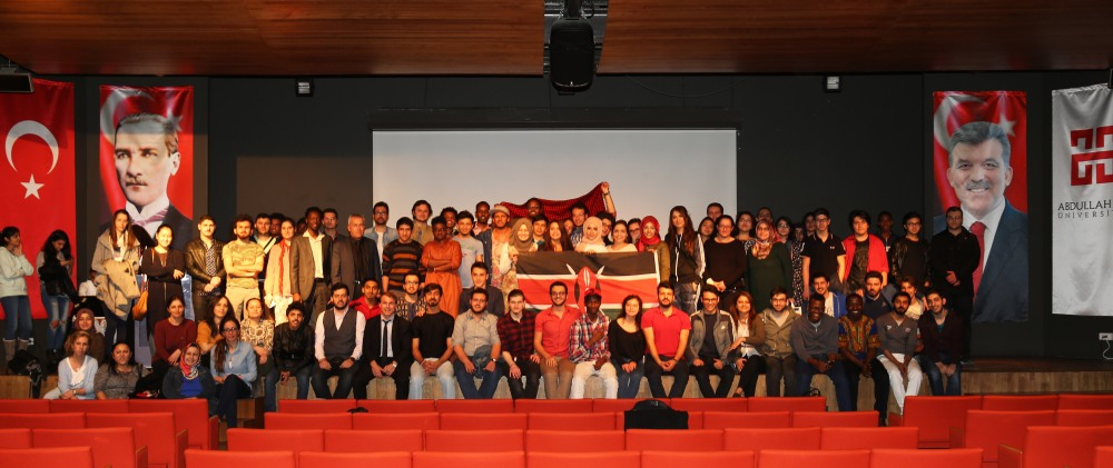 Abdullah Gül University, AGU, students, staff, faculty, conference, event, on campus, international, culture, international students, club