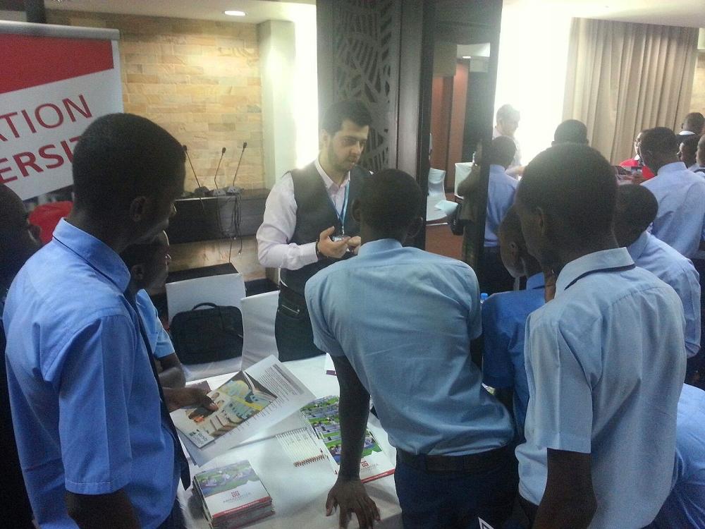 AGU, Abdullah Gül University, ISFA, Africa, Fair, International, Student, Apply, Undergraduate