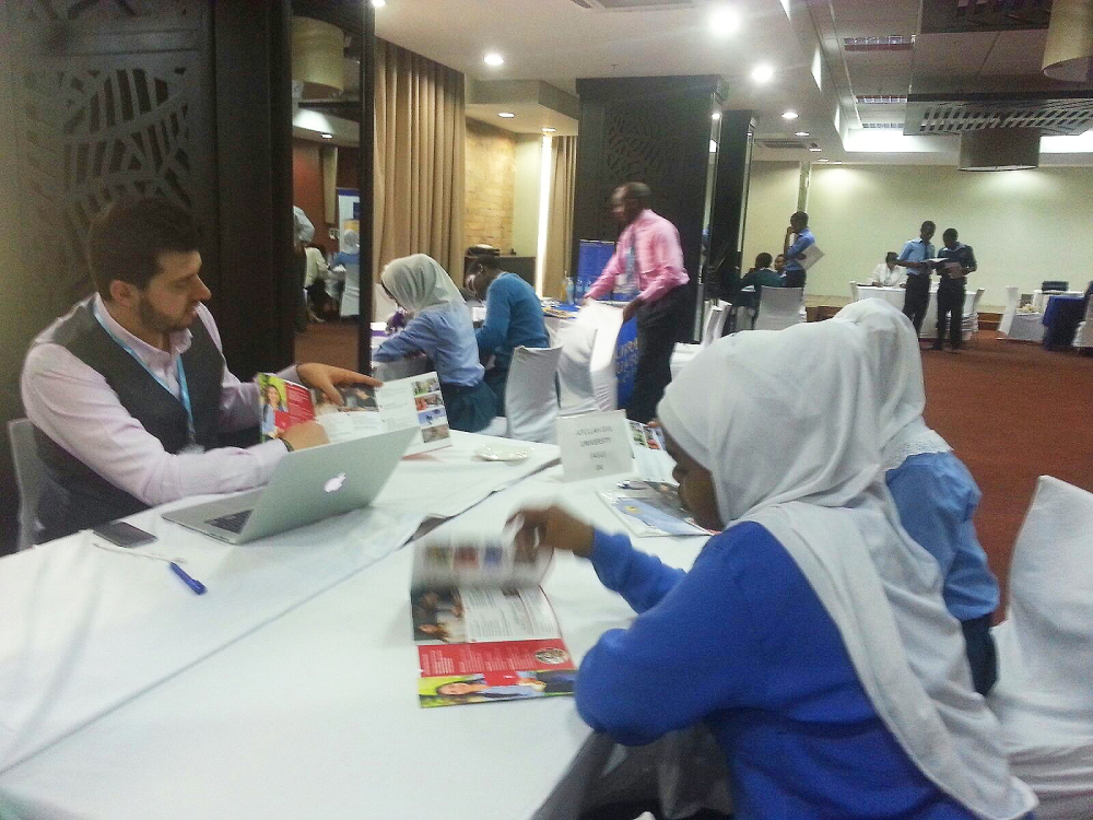 ISFA, Study Fair, International, Student, Apply, Recruitment, Brochure, Programs, 100%, English, Abdullah Gül University, AGU