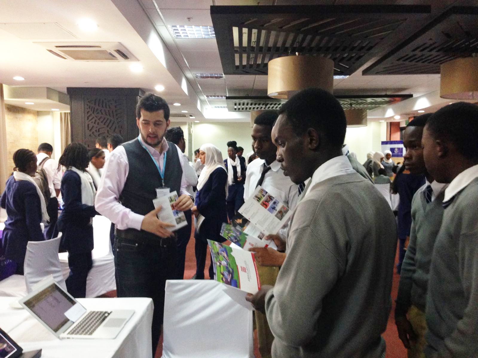 AGU, Abdullah Gül University, Student Fairs, Recruitment, Apply to AGU, Africa, International, Student, Kenya, Tanzania, ISFA