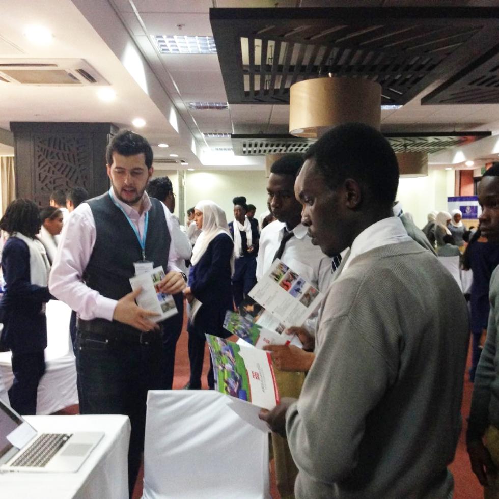 AGU, Abdullah Gül University, Student Fairs, Recruitment, Apply to AGU, Africa, International, Student, Kenya, Tanzania, ISFA