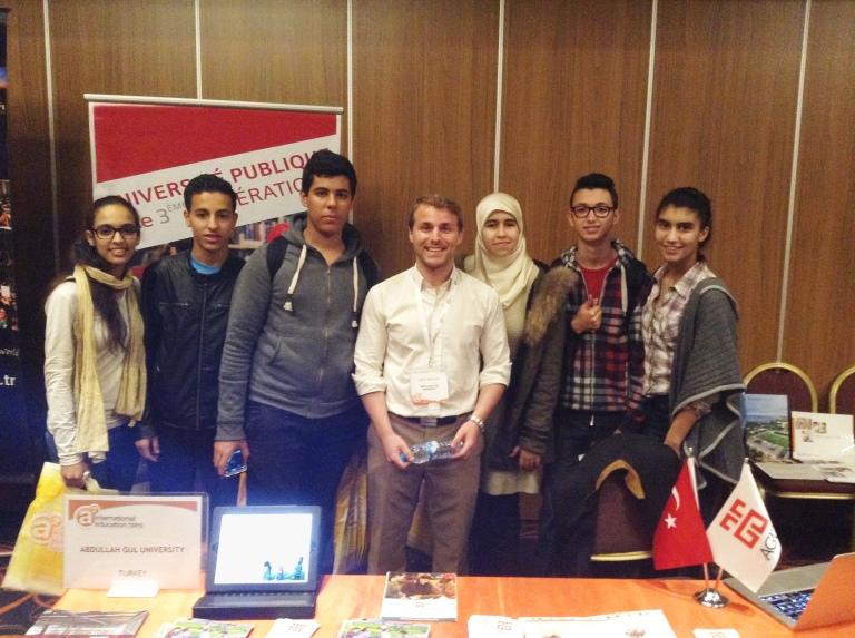 AGU, Abdullah Gül University, Student, International, recruitment, fairs, Casablanca, morocco, apply to, AGU
