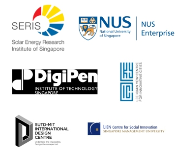 SERIS, NUS Enterprise, DigiPen Sigapore, Lee Kuan Yew Centre for Innovative Cities, SUTD-MIT International Design Centre, Lien Centre for Social Innovation, Abdullah Gül University