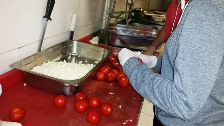 ABdullah Gül University, student, prepare food, cook