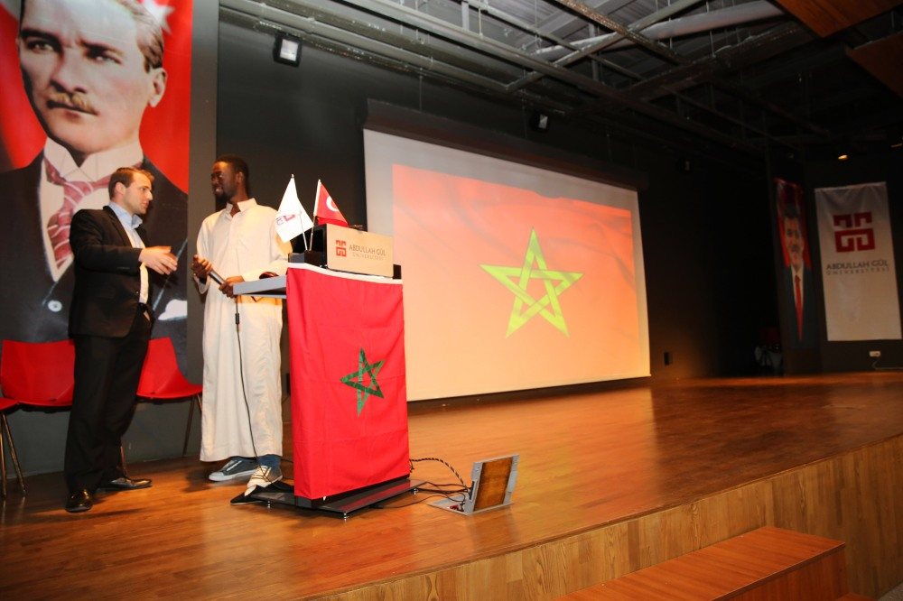 AGU, Abdullah Gül University, Intercultural Series, Second Edition, International, Culture, Event, Morocco, Day, International Office, International Student Club, Conference Hall
