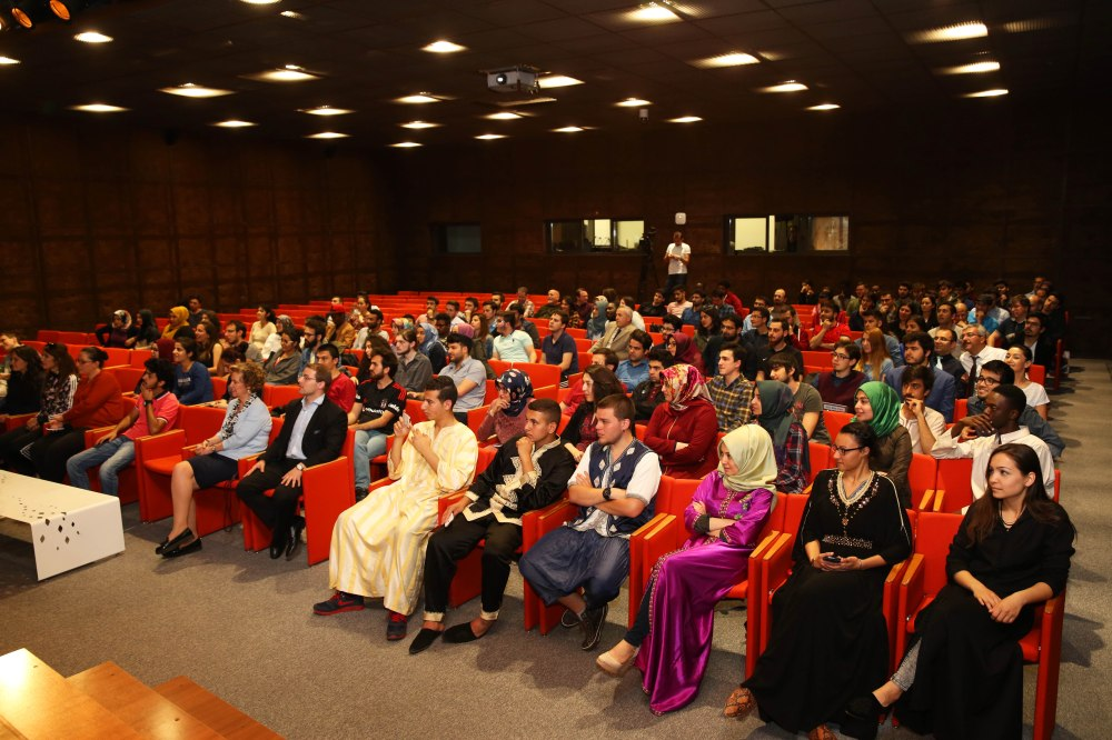 Abdullah Gül University, students, staff, faculty, event, presentation,Morocco