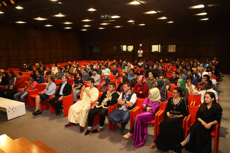 Abdullah Gül University, students, staff, faculty, event, presentation,Morocco