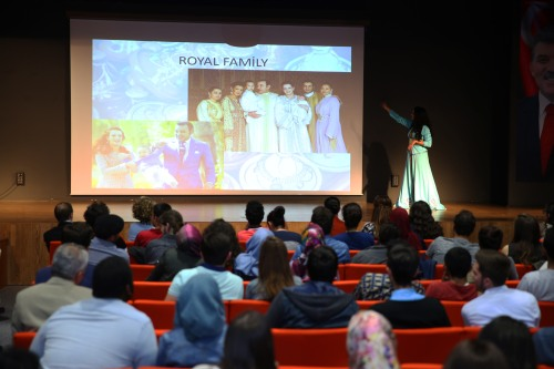 Morocco, presentation, discover, country, international, event, students, Abdullah Gül University