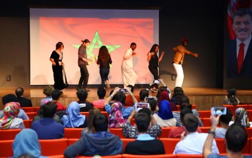 Abdullah Gül University, AGU, dance, student, club, international, activity, AGU International Association, Morocco, Intercultural Series, event