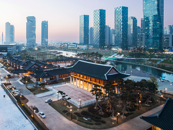 Songdo, South Korea, Incheon National University, Abdullah Gül University, Kayseri