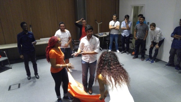 AGU, International students, games, welcome, orientation, Abdullah Gül University