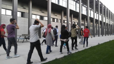 Abdullah Gül University, International students, volunteers, campus tour, AGU