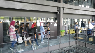 Abdullah Gül University, campus tour, AGU, library, international students, welcome