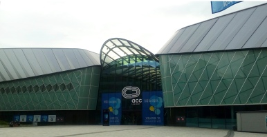EAIE Conference, Exhibition hall, 2016, Liverpool