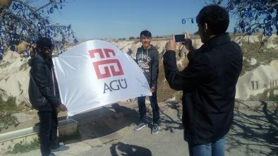 Abdullah Gül University, AGu, Orientation Program, Cappadocia trip, Uçhisar