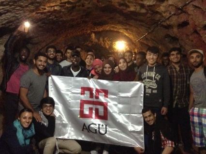 Cappadocia, Derinkuyu Underground city, Abdullah Gül University, AGU, International Students, orientation, trip, welcome