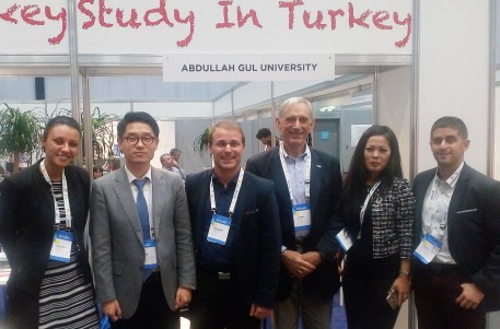 Abdullah Gül University, SolBridge, EAIE, Liverpool, international office