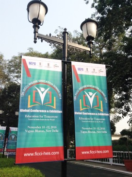 FICCI, Global Conference and Exhibition, 2016, Higher Education Summit, New Delhi, India
