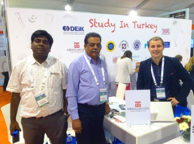 Abdullah Gül University, AGU, Study in Turkey, international Partnership, international office