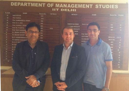Indian Institute of Technology, New DElhi, Department of Management Studies, Dr Ravi Shankar