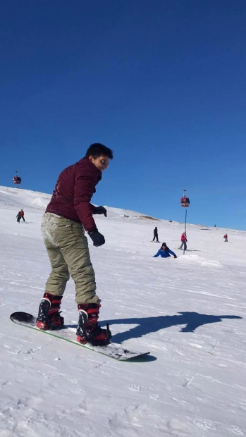 International Students, Kayseri, trip, Erciyes Ski Resort, Snowboard, Abdullah Gül University