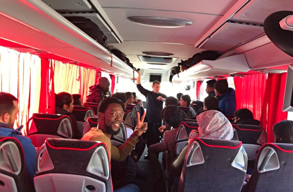 Abdullah Gül University, AGU, bus, trip, international, students, office