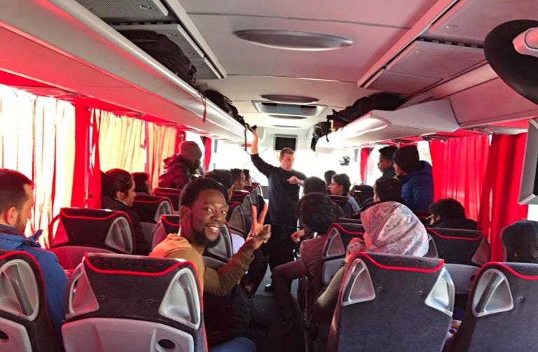 Abdullah Gül University, AGU, bus, trip, international, students, office