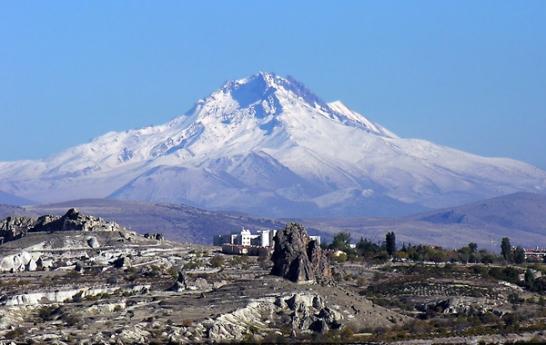Erciyes, mountain, Kayseri, snow