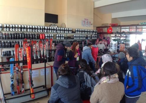 Erciyes, Ski Resort, AGU, International Students, Equipment, Skis, Snowboards, Shoes
