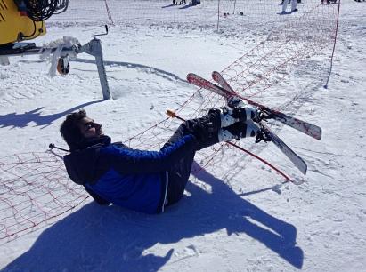 AGU, International Student, Pakistan, Skiing
