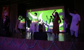 AGU, International, students, Turkish, students, International, Association, dance, performance, intercultural, series, third edition, music, dance, song, Pakistan