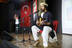 AGU, Abdullah Gül University, international, student, Pakistan, music, concert