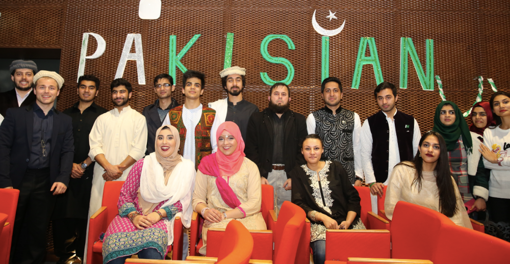 Pakistan, students, Kayseri, Turkey, AGU, Abdullah Gül University,