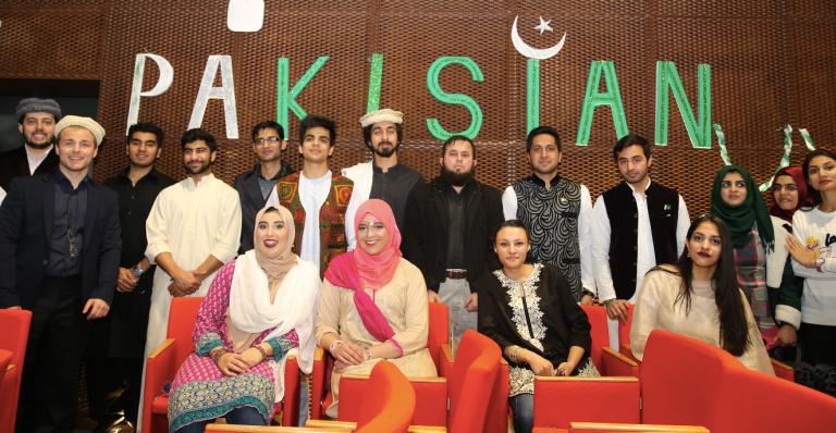 Pakistan, students, Kayseri, Turkey, AGU, Abdullah Gül University,