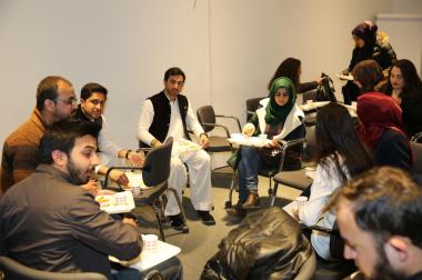AGU, Abdullah Gül University, intercultural, series, Pakistan, food, international, students, gathering