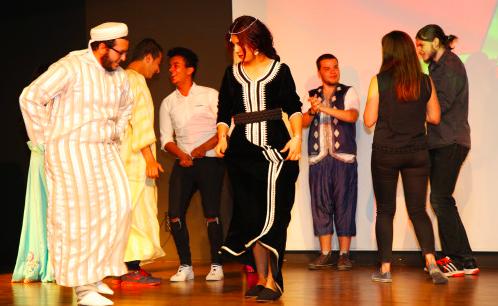 Intercultural, series, culture, event, Morocco, international, students, on-campus, AGU, Abdullah Gül University