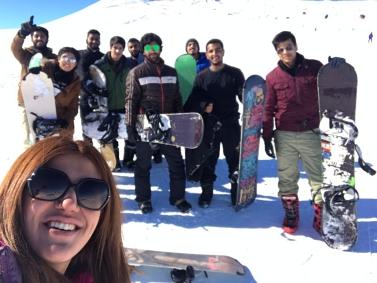 Abdullah Gül University, International Office, selfie, students