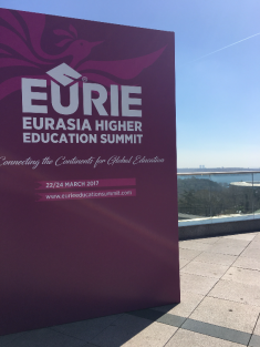 EURIE, Eurasia Higher Education Summit, 2017, Istanbul, Connecting the Continents For Global Education