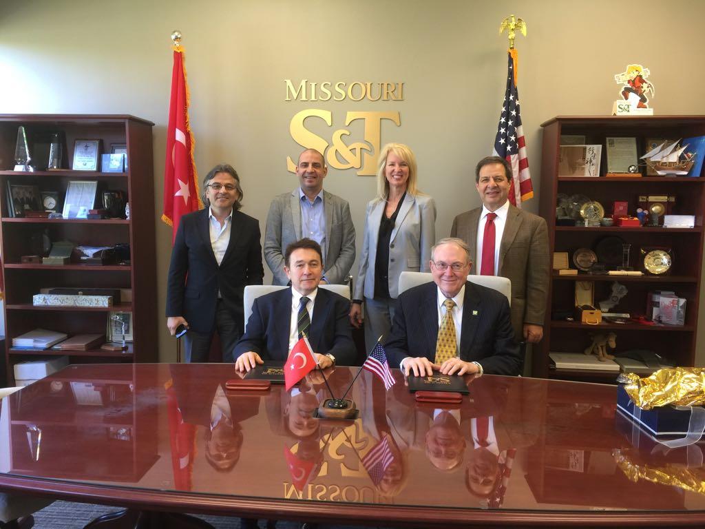 Missouri University of Science and Technology, Missouri S&T, Abdullah Gül University, AGU, Turkey, delegation, visit, Rolla