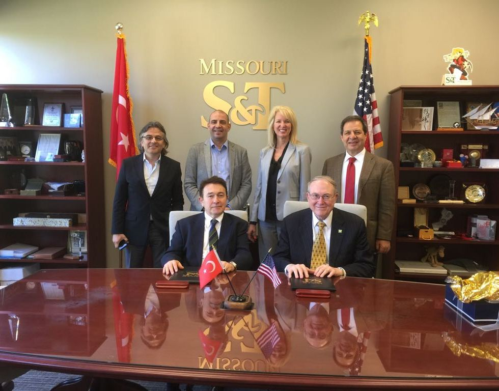 Missouri University of Science and Technology, Missouri S&T, Abdullah Gül University, AGU, Turkey, delegation, visit, Rolla