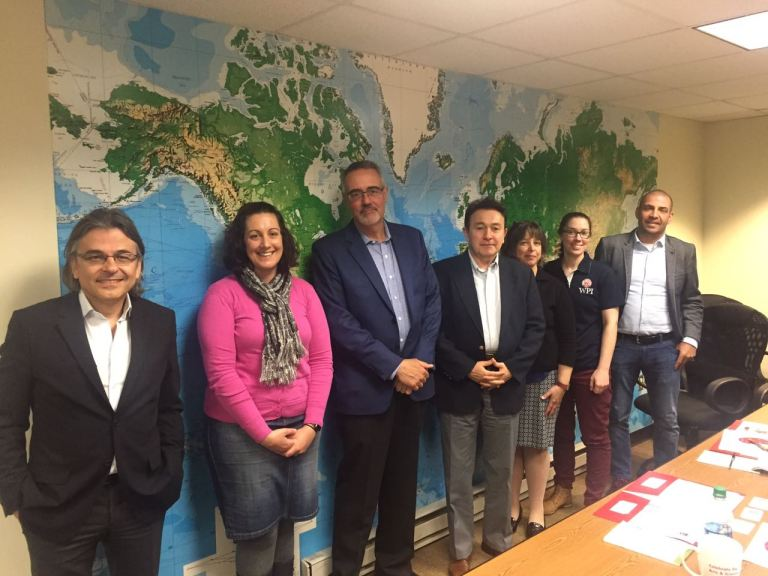 Abdullah Gül University, AGU, Turkey, visit, USA, WPI, Worcester Polytechnic Institute