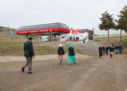 Abdullah Gül University, AGU, High Achievers, Pakistani, High School students, campus visit, Erciyes Mountain, Ski Resort