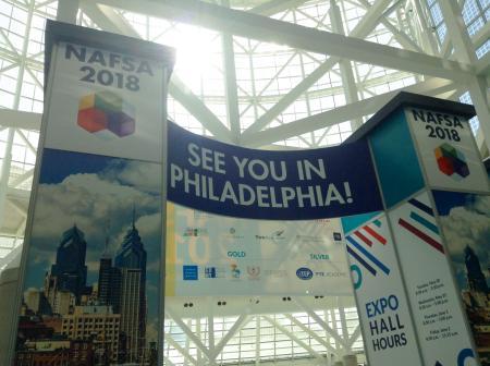 NAFSA, 2018, Philadelphia, Pennsylvania, Abdullah Gül University, AGU, internationalization